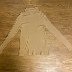 Ralph Lauren WOMENS camel turtleneck